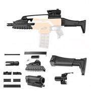 HITSAN INCORPORATION Worker XM8 Short Board Modify Set Part for Nerf N-Strike Elite Stryfe Retaliator Toys