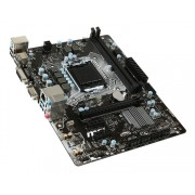 MSI H110M PRO-VD, Intel H110, VGA by CPU, PCI-Ex16, 2xDDR4, SATA3, VGA/DVI/USB3.0, mATX (Socket 1151)