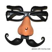 ochelari petrecere funny cu mustata mobila - Cod 60093