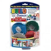Shopaholic Build Bonanza Self Adhesive Tape Works Building Block (4 Piece)