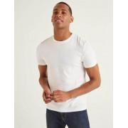 Boden Weiß Vorgewaschenes T-Shirt Herren Boden, XS, White