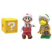 KNEX Nintendo Super Mario 3D Land Fire Mario and Hammer Bro Mystery Figures