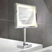 Battery-powered LED cosmetics mirror London