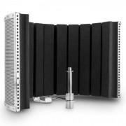 Auna MP32 MKII Pantalla de micrófono Mic Screen Difusor incl. adaptador plata