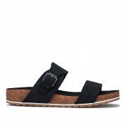 Timberland Women-apos;s Timberland Malibu Waves 2 Band Sandals in Black Noir UK 5.5