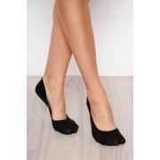 Fekete pamutból készült zokni