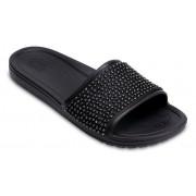 Crocs Sloane Embellished Slides Damen Black / Black 37
