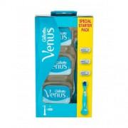 Gillette Venus dárková kazeta pro ženy holicí strojek 1 ks + náhradní hlavice 3 ks