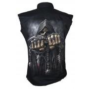 "chemise pour hommes sans sans manches SPIRAL ""Game Over"" - TR 260880"
