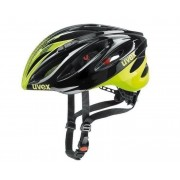 Sisak Uvex Boss Race, black-neon yellow