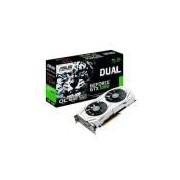 Placa De Video Pciexp 6gb Asus Geforce Ddr5 Gtx 1060 Dual Series Oc Edition 192 Bits