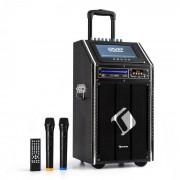 "Auna DisGo Box 100 DVD Equipo PA móvil 300 W máx. Display TFT 9"" DVD BT (PAS5-10DVD)"