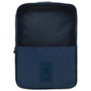 Swadec Shoe Luggage Cosmetic Hanging Bag - NAVY BLUE Travel Toiletry Kit(Blue)
