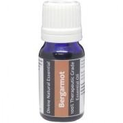 Divine Natural Essentials Bergamot Essential Oil 100% Pure Undiluted Aromatherapy Skincare Therapeutic Grade. 10 ml