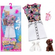 Barbie Fashion Dolphin Magic-accesorii tinuta de zi FBD87