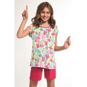 Pijama fetite Cactus multicolor 122128