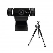 Webkamera Logitech C922 HD 1080p Streaming Tripod Fekete