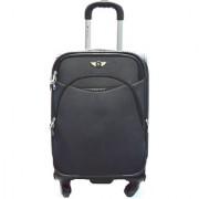 Texas Grey Unisex nylon strolley bag emzlug8203s24grey