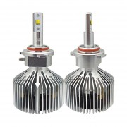 2 Pcs Hb3 25w Philips Mz 3000lm 6000k Blanco Light Car Led Head Lamp With Driver, Dc 11-30v