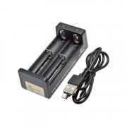Универсално зарядно устройство за 3.6V и 3.7V Li-Ion акумулаторни батерии XTAR MC2 Intellicharger