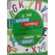 My first alphabet writing english book - Cartea primului meu alfabet
