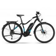 Haibike SDURO Trekking 5.0 Da 500Wh 9-G Alivio - 18 HB BCXI schwarz/blau/weiß matt - E-Bikes XS