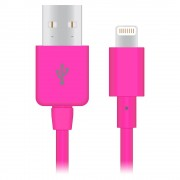 Apple Naztech Apple Certified Lightning 8-Pin Charge and Sync Cable - (Magenta)