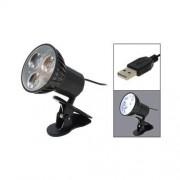 Mini LED reflektor na osvetlenie klávesnice