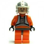 Lego Star Wars Mini Figure - Wedge Antilles X-Wing Pilot (Approximately 45mm / 1.8 Inches Tall)