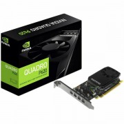 NVIDIA Video Card Quadro P620 GDDR5 2GB, 128bit, 512 CUDA Cores, PCI-E 3.0 x16, 4xminiDP, Cooler, Single Slot, Low Profile 4xmDP-DP Cables, Full Size and Low Profile Bracket incuded