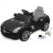 Voiture Électrique 6 V Avec Télécommande Mercedes Benz Sls Amg Noire