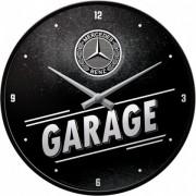 Ceas de perete Mercedes-Benz Garage - Ø31 cm