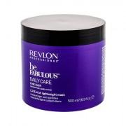 Revlon Professional Be Fabulous™ Daily Care Fine Hair maschera per capelli per capelli colorati 500 ml donna