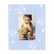 Rama foto baby teddy bear Procart format 6x8 cm Albastru