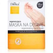 L'biotica Masks masca regeneratoare pentru maini sub formă de manusi 26 g