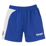 Kempa Damen-Short PEAK - royal/weiß | L