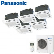 Aer Conditionat MULTISPLIT Caseta PANASONIC CU-5E34PBE / 5x CS-E12PB4EA INVERTER 5x12k BTU/h