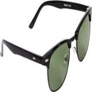 Ignazio Rectangular Sunglasses(Green)