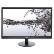 """Monitor PC Led 22 pollici AOC E2270SWN LCD 21.5"""" Eco Mode Elegante Nero e-Saver"""