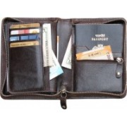 ABYS Passport Pouch(Brown)