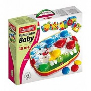 Quercetti Fantacolor Round Pegs Baby Toy