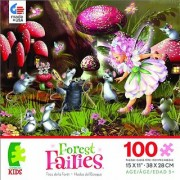 Forest Fairies Fairy Mice and Mole Jigsaw Puzzle