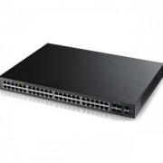 Суич ZyXEL GS2210-48 48 портов Layer2 switch 44xGigabit metal + 4x Gigabit dual personality + 2x(Gigabit SFP) порта - ZYXEL-GS2210-48