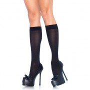 LEG AVENUE CALCETINES ALTOS NEGRO U