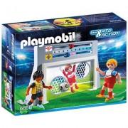 PLAYMOBIL - POARTA DE FOTBAL PENTRU ANTRENAMENT (PM6858)