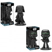 Wacky Wobblers Funko Wacky Wobbler Figures - Rogue One: A Star Wars Story S2 - SET OF 2 (Darth Vader & Imp Death Trooper)