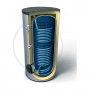 Бойлер с индиректно загряване с две серпентини Емайлиран стоманен водосъдържател Високоефективна изолация от мек пенополиуретан 100 mm Анодна защита Външен термоиндикатор Предпазен клапан Термопокет за термосензор Вход за рециркулация Достъп до водосъдърж