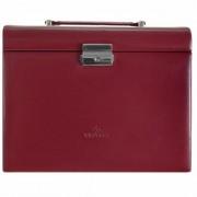 Windrose Merino Caja para joyas joyero 26 cm Rot