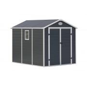 g21 Zahradní domek G21 PAH 458 - 241 x 190 cm, plastový, šedý