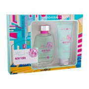 Mandarina Duck Let´S Travel To New York 100Ml Edt 100 Ml + Shower Gel 100 Ml Per Donna (Eau De Toilette)